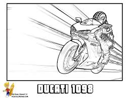 Ducati 1098 Motorcycle Picture To Print Off