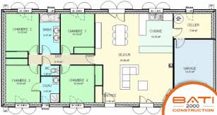 plan maison 5 chambres plain pied homewreckr co