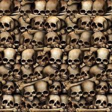 Halloween Scene Setters Uk by 30ft Catacombs Mural Dungeon Skulls Bones Halloween Scene Setter