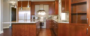 Huntwood Cabinets Red Deer by Contemporary Stain Custom Cabinets