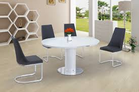 Round White Glass High Gloss Dining Table And 4 Grey Chairs Set | EBay Amazoncom Coavas 5pcs Ding Table Set Kitchen Rectangle Charthouse Round And 4 Side Chairs Value City Senarai Harga Like Bug 100 75 Zinnias Fniture Of America Frescina Walmartcom Extending Cream Glass High Gloss Kincaid Cascade With Coaster Vance Contemporary 5piece Top Chair Alexandria Crown Mark 2150t Conns Mainstays Metal Solid Wood Round Ding Table Chairs In Tenby Pembrokeshire Phoebe Set Marble Priced To Sell