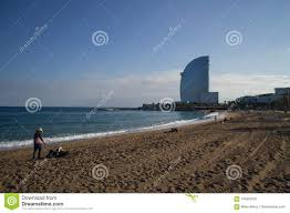 100 The W Hotel Barcelona Spain Beach Ith Editorial Image Image Of
