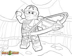 LEGO Ninjago Skylor In Zukin Gi Coloring Page Printable Sheet