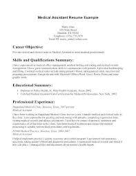 Medical Billing Resume Objective Fresh Sample Ideas