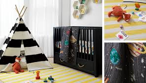 outer space nursery decor the land of nod