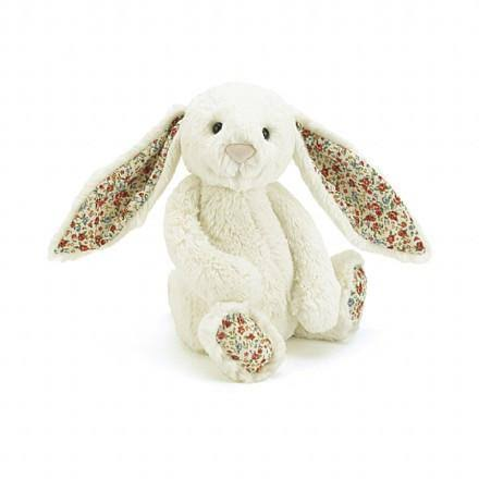 Jellycat Blossom Lily Bunny Toy - Cream