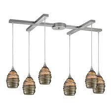 attractive hanging lighting ideas blown glass pendant lights