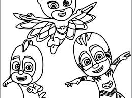 Pj Masks Coloring Sheets Color Pages On Book X A Next Image Wallpaper Romeo