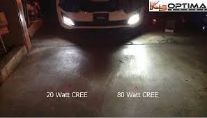k5 optima store cree led fog light bulbs 1 pair
