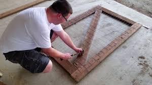 100 Building A Garden Gate From Wood A Part 1
