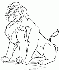 Free Coloring Disney Lion King Printable Pages With 62