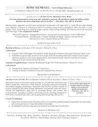 Automotive Technician Resume Sample Technical Summary Architect Software