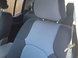 Covering Neoprene Charcoal Seat Covers. - Nissan Frontier Forum