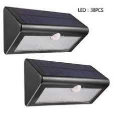 motion sensor solar powered path lights