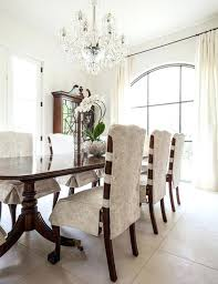 White Dining Room Chair Covers Beautiful With Best