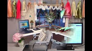 Cubicle Decoration Ideas For Christmas by Stunning Cubicle Decor Ideas Youtube