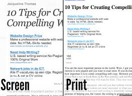 Buzz IXThemes Blog Archive 10 Tips For Better Print Style
