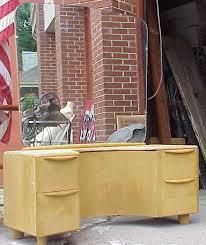 Heywood Wakefield Chairs Antique by Heywood Wakefield Encore Vanity W Mirror U0026 Chair For Sale