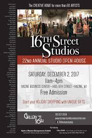 100 Hope Street Studios Racine Arts Business Center Gallery On 16th Events Racine Arts