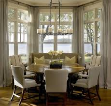 Breakfast Nook Ideas For Small Kitchen by Excellent Breakfast Nook Window Treatments 60 For Simple Design