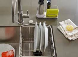 Simplehuman Sink Caddy Stainless Steel by Amazoncom Simplehuman Sink Caddy Brushed Stainless Steel Home