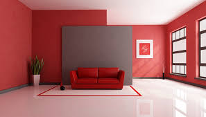Red Leather Couch Living Room Ideas by Interior Fascinating Red Leather Sofa With Ceramic Floor Red