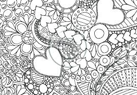 Coloring Pages For Adults Printable Toddlers Free Abstract Difficult