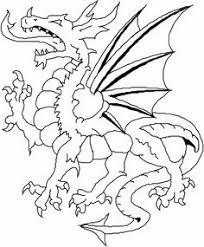 Angry Dragon Coloring Book Cool PagesFree Printable