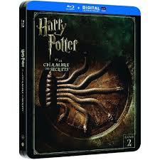 la chambre des secrets harry potter 2 la chambre des secrets steelbook dvd bluray