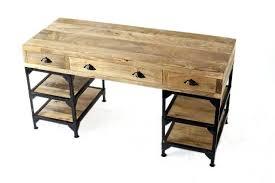 bureau industriel metal bureau industriel metal et bois bureau caruso style industriel en