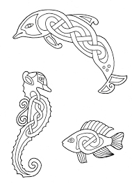 Full Size Of Adultsceltic Mandala Coloring Pages Celtic Fish Dolphin Seahorse