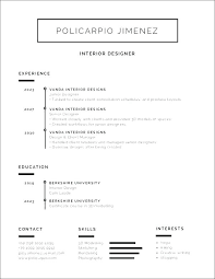 Current Resume Templates College Student Cv Template 2017 Word Black And White Minimalist Definition Job
