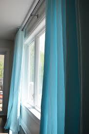 ikea merete curtain hack dye curtains aqua blue and aqua