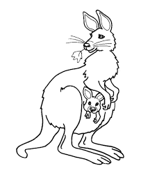 Australian Animal Colouring Books Animals Coloring Pages Kids