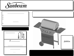 Brinkmann Electric Patio Grill Manual by Sunbeam Gas Grill Sg4501wp User Guide Manualsonline Com