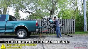 100 Motorcycle Ramps For Pickup Trucks Black Widow Heavy Duty 4Beam Aluminum Folding Ramp