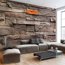 murando fototapete steinwand 400x280 cm vlies tapeten wandtapete moderne wanddeko design wand dekoration wohnzimmer schlafzimmer büro flur
