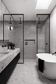 104 Modern Bathrooms A Narrow Home In Australia Inspired By Belgian French Contemporary Architecture Bathroom Inspiration Bathroom Interior Contemporary Architecture Design