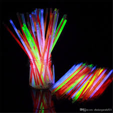 Flashing Christmas Tree Lights Necklace by 7 8 U0027 U0027multi Color Glow Stick Bracelet Necklaces Neon Party Led
