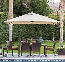 Offset Patio UmbrellaLarge Outdoor Umbrella Sun Shades For Patios8 X 11