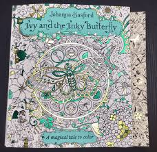 Size Comparison Of Ivy And The Inky Butterfly Secret Garden By Johanna Basford