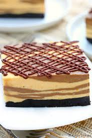 Pumpkin Layer Cheesecake by Marble No Bake Chocolate Pumpkin Cheesecake Bars Recipe
