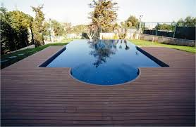 swimming pool deck is an enjoyable experience during the