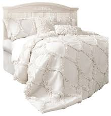 Lush Decor Belle 4 Piece Comforter Set by Bedding Houzz