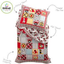KidKraft Fire Truck 4 Piece Toddler Bedding Set - Walmart.com