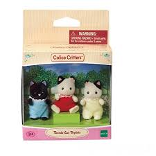 Calico Critters Bunk Beds by Critters Tuxedo Cat Triplets And Triple Baby Bunk Beds 6k6bpw41n