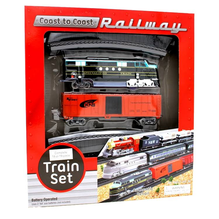 Coast to Coast Railway Play Set