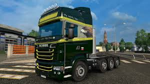My Life My Rules Skin For Scania Rjl Euro Truck Simulator 2 Mods ...