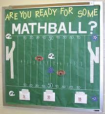 Interactive Math Bulletin Board Idea