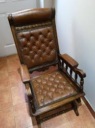 Antique Victorian American Rocking Chair In RM18 Tilbury For ... Arts Crafts Mission Oak Antique Rocker Leather Seat Early 1900s Press Back Rocking Chair With New Pin By Robert Sullivan On Ideas For The House Hans Cushion Wooden Armchair Porch Living Room Home Amazoncom Arms Indoor Large Victorian Rocking Chair In Pr2 Preston 9000 Recling Library How To Replace A An Carver Elbow Hall Ding Wood Cut Out Stock Photos Rustic Hickory Hoop Fabric Details About Armed Pressed Back